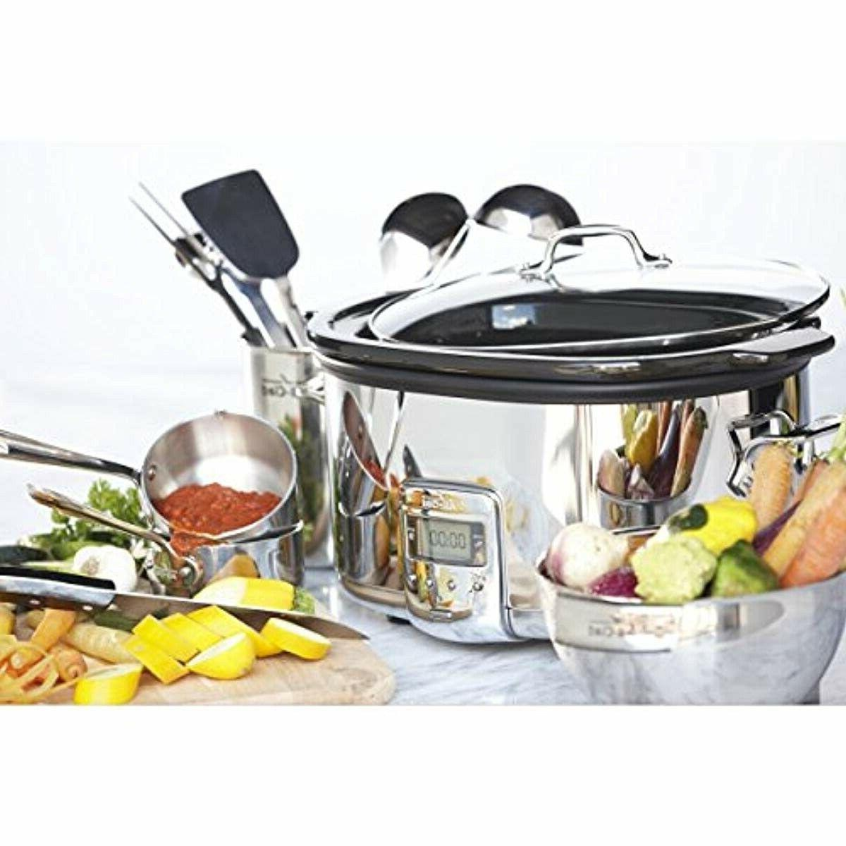 All Clad Big Pot Best Sellers Programmable Easy to Clean