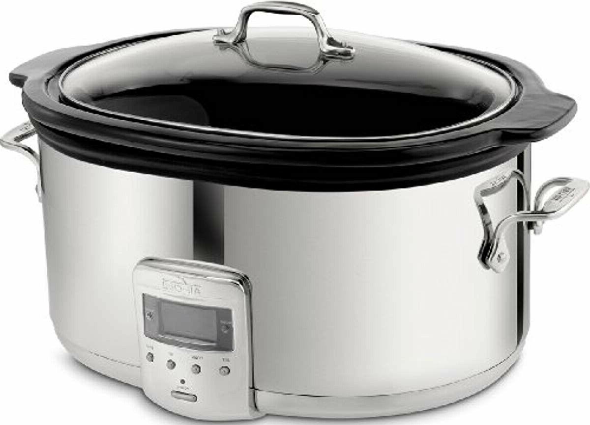 all clad slow cooker big crock pot