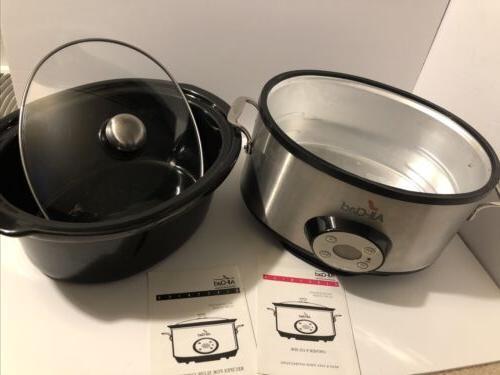 All Electric Slow Crock Pot 6.5 Qt