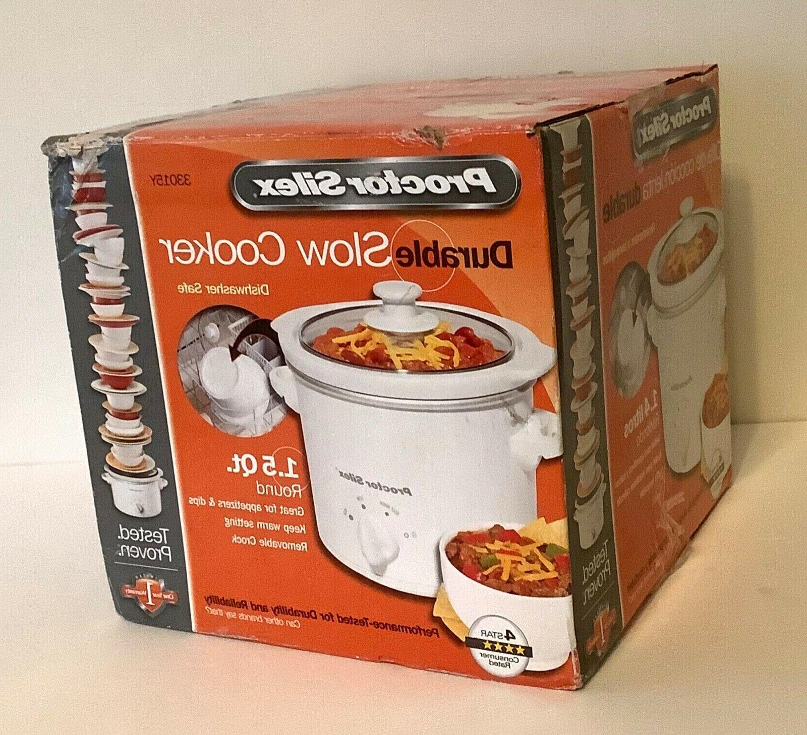 Brand New Durable 1.5 Slow Cooker is