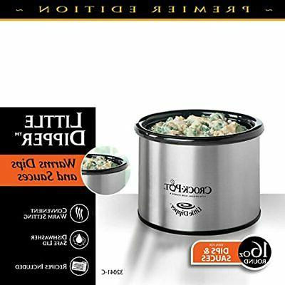 """Crock-Pot 16-Ounce Chrome Slow Cookers """" Dining"""