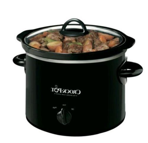 crock pot 2 quart round manual slow