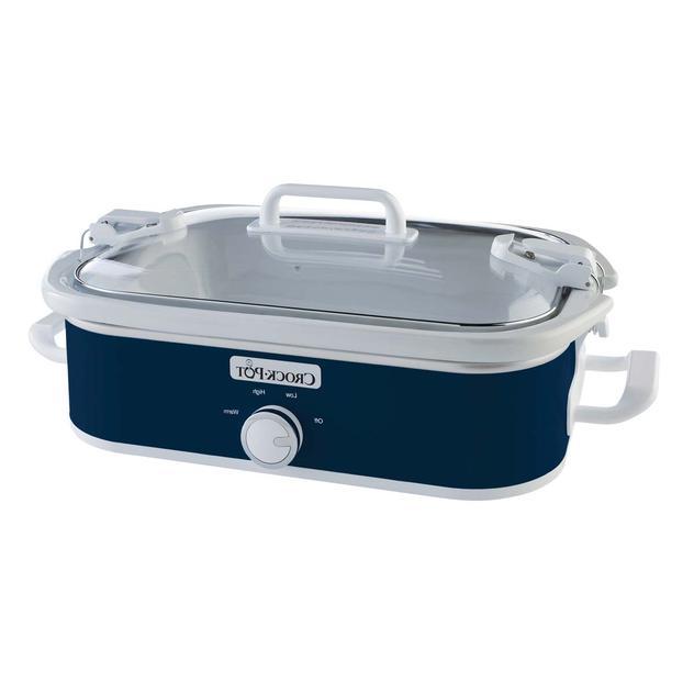 Crock-Pot Casserole Midnight Blue