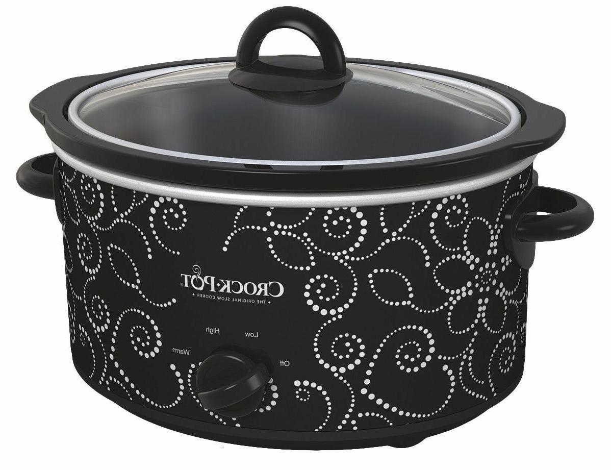 crock pot 4 quart manual slow cooker
