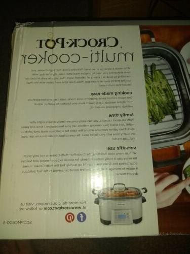 Crock-Pot 5-in-1 W/Non-Stick Inner Pot