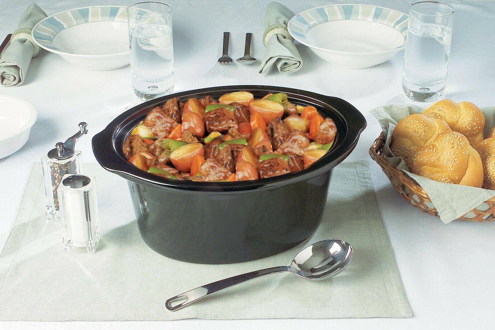 Crock-Pot 7 Slow Cooker, Black