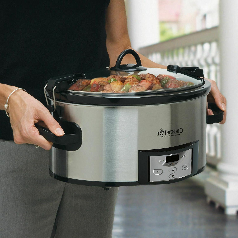Crock-Pot Programmable & Carry