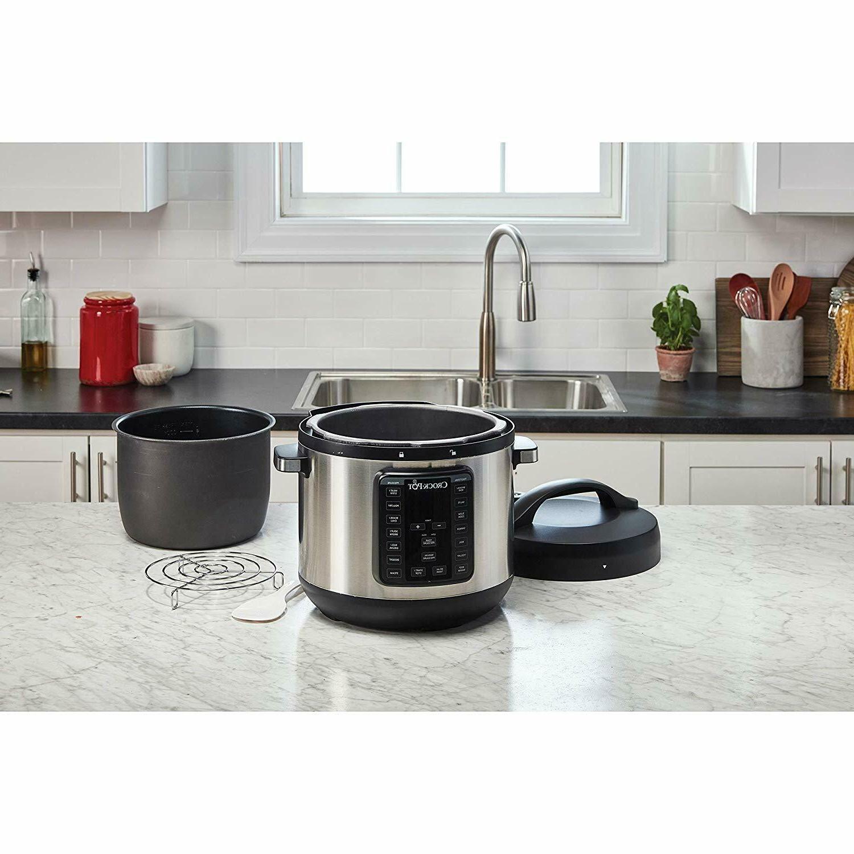 Crock-Pot Cooker And Pressu