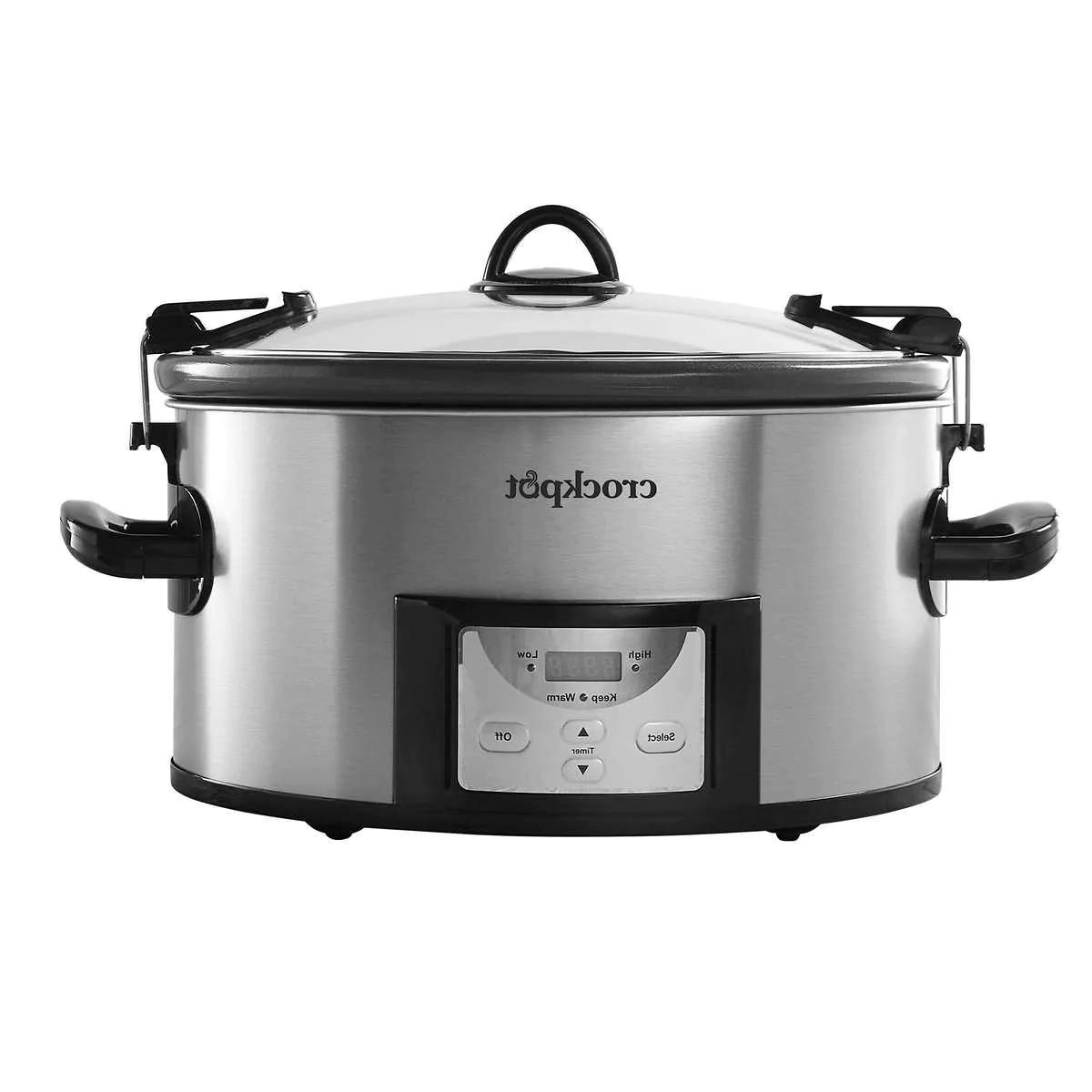 crock pot cook and carry digital countdown
