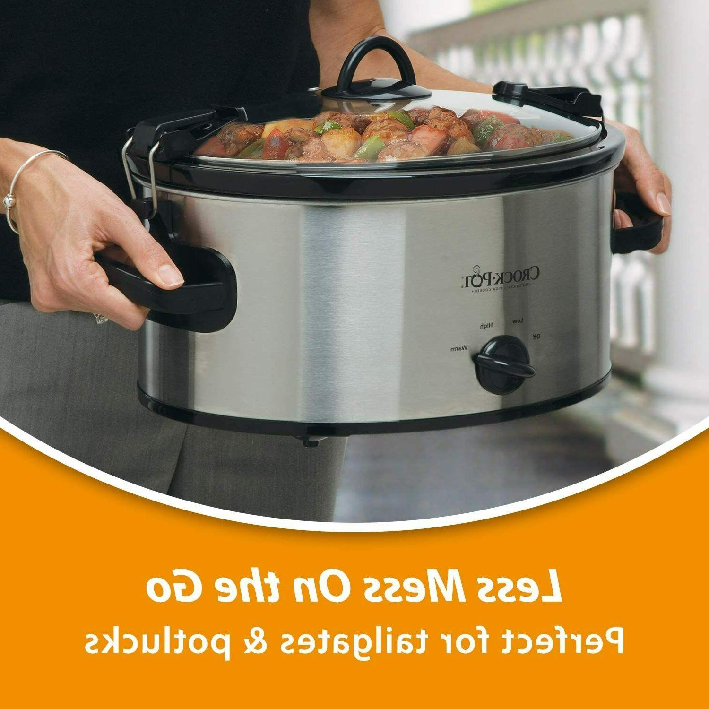Crock-Pot 6-Quart Portable Slow