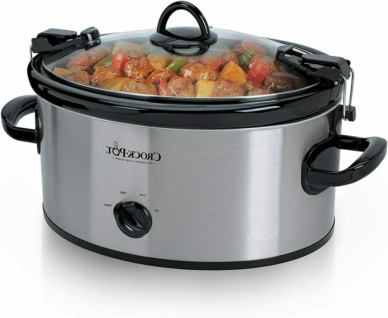 crock pot cook n carry 6 quart