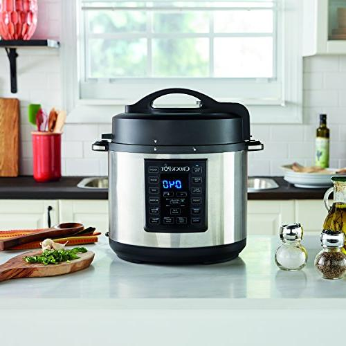 Crock-Pot Multi-Cooker, Stainless