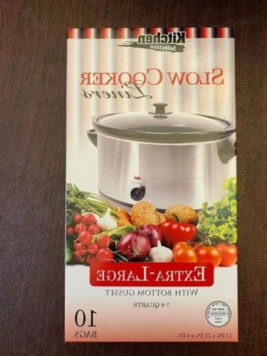 crock pot liners slow cooker extra large