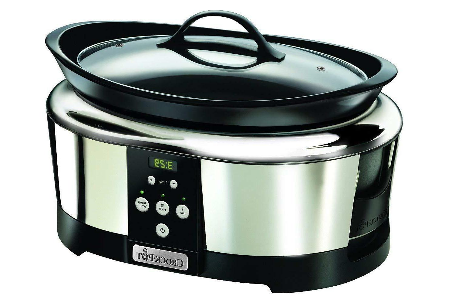 Crock-Pot SCCPBPP605 Pot slow cooking digital l 6 people 2 l