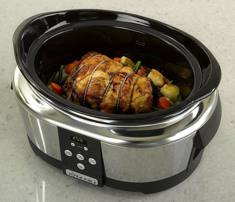 Crock-Pot Pot cooking l 6 people levels