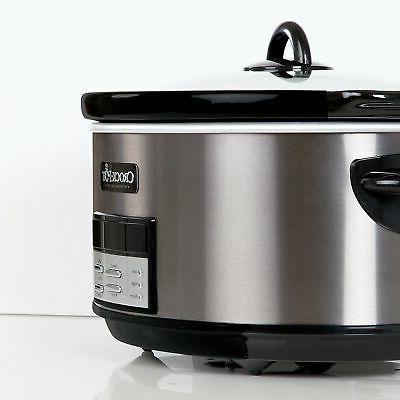 Crock-Pot Cooker, Programmable, Black