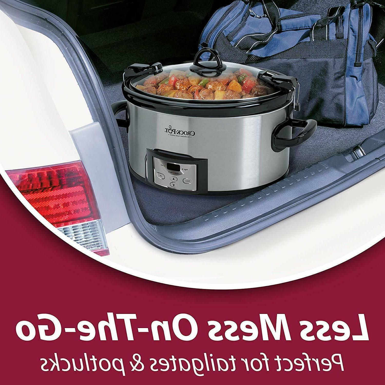 Crock-Pot SCCPVL610-S-A 6-Quart & Programmable Cooker
