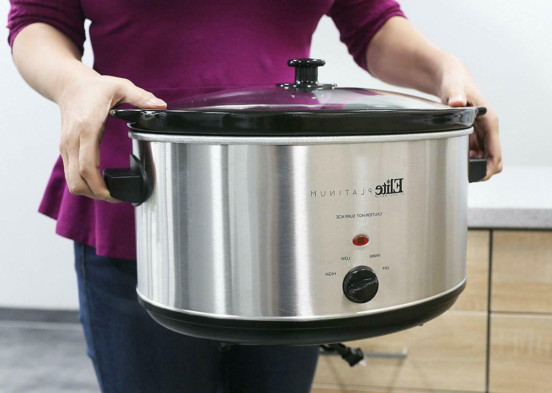 Crock-Pot Cooker Oval Steel Crockpot
