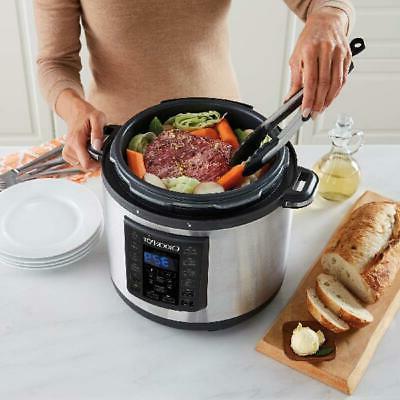 Crock Pot Pressure 8-in-1 Qt Programmable