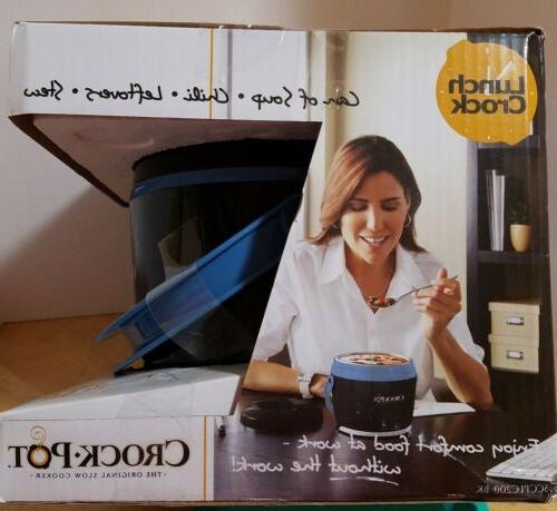 Crock-Pot SCCPLC200-BK-SHP Slow Cooker Blue