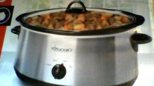 crock pot the original slow cooker scv500
