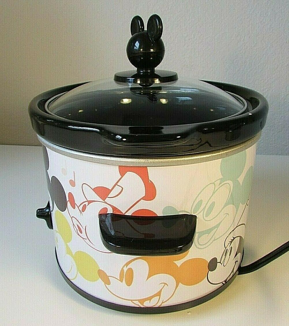 Cute 90 with Mouse Crock 90th Anniversary