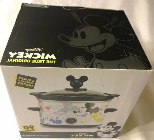 Disney Mickey Mouse Years Quart Crock Pot