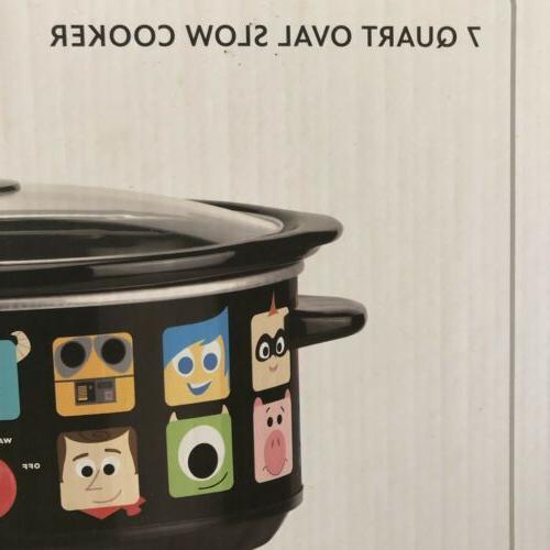 Disney Pixar Qt Crock NIB