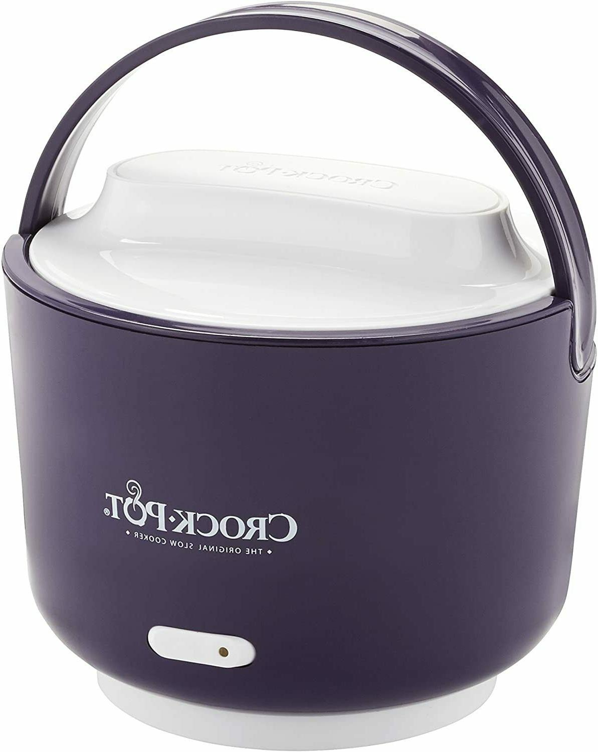 Electric Lunch Box Heater Warmer For Adults Crock Pot 24 Oz.