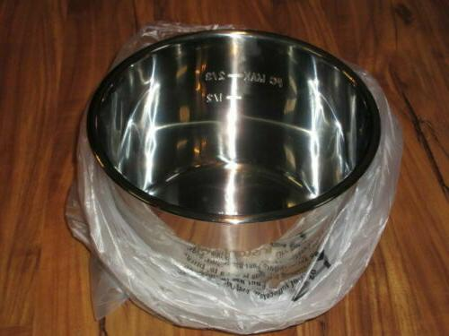 genuine stainless steel inner cooking pot 8