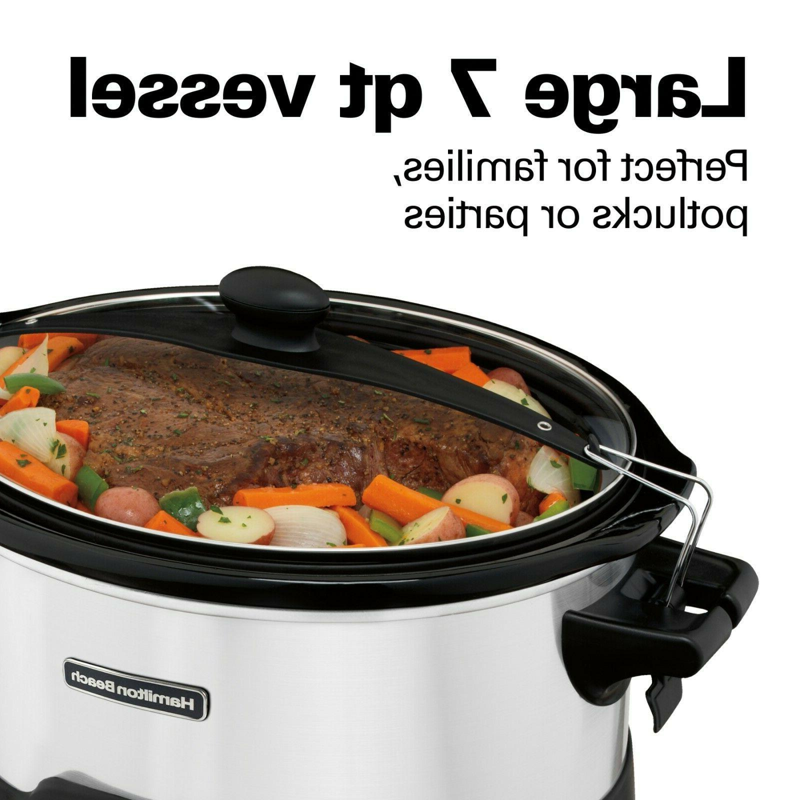 Hamilton 33473 Programmable Slow 7 Cooking New