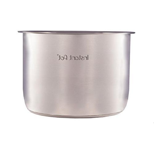 instant pot stainless steel inner cooking quart