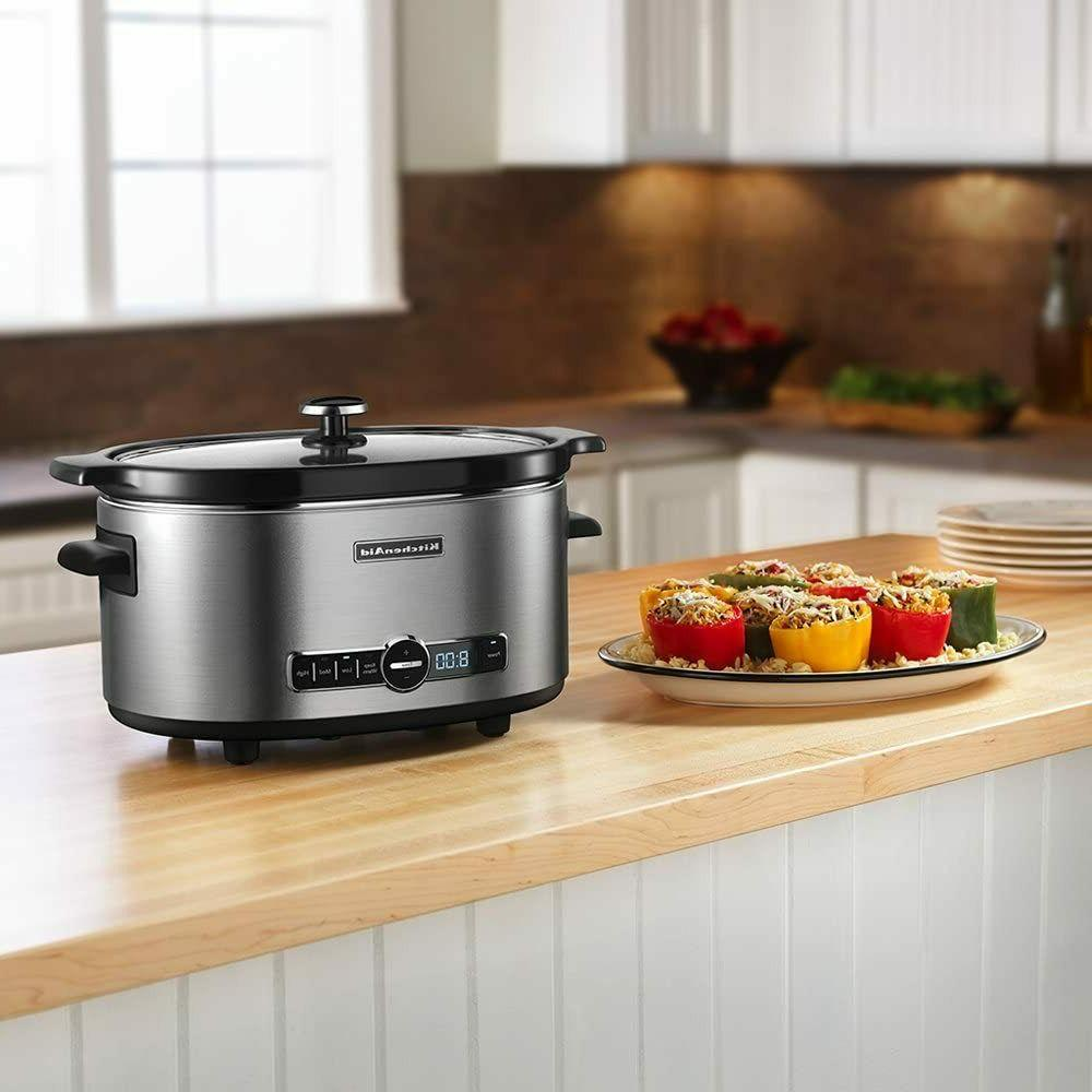 KitchenAid Cooker - Steel