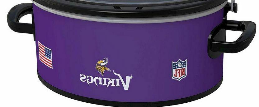 LARGE Vikings POT Slow Cooker Football Party Serve 7+