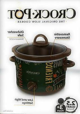 Limited Classic Crock Pot Quart