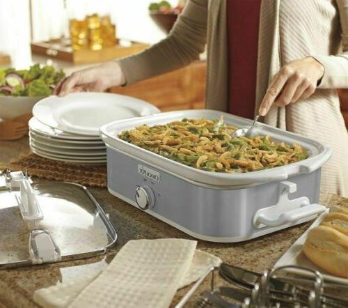 NEW Crock-Pot 3.5-qt. Casserole Crock Original Cooker FREE SHIPPING