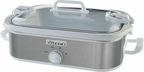 new crock pot 3 5 qt casserole
