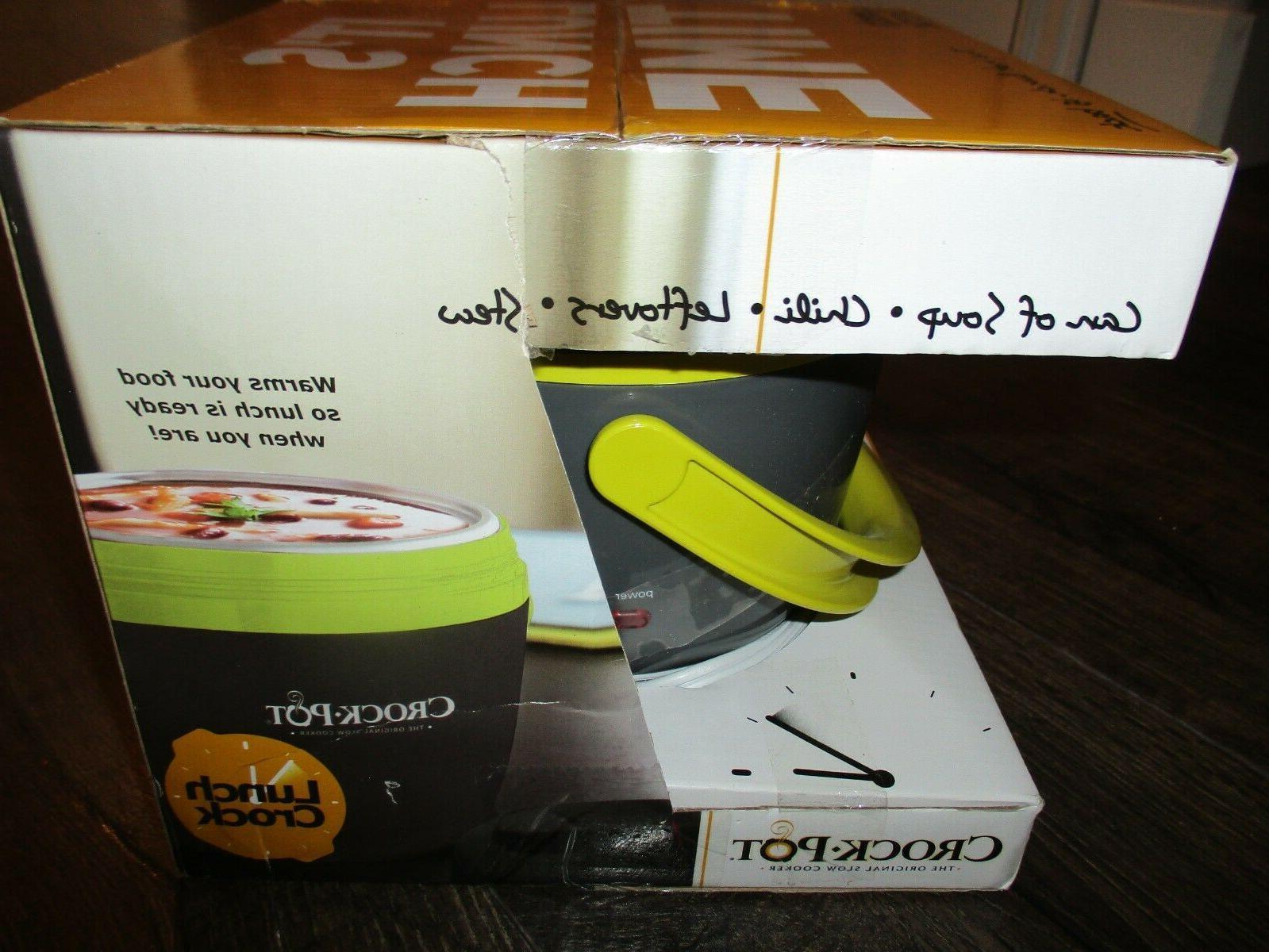 New Crock-Pot Food Warmer Lunch Box