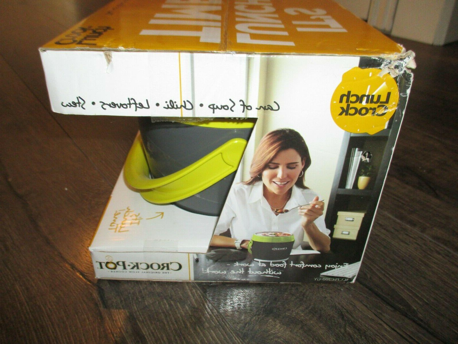 New Crock-Pot Food Warmer Lunch Box oz