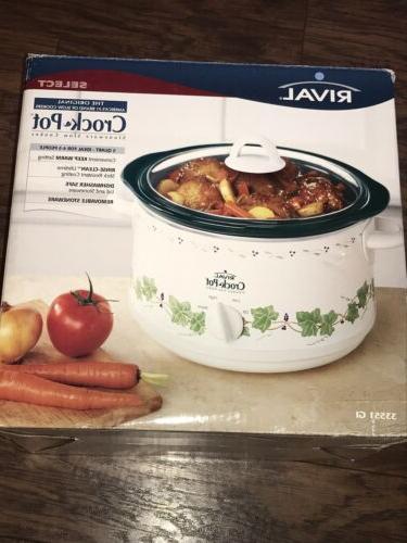 new in box callaway crock pot green