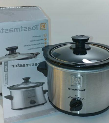 *NEW* Toastmaster 1.5 Slow Cooker/CrockPot Adjustable Control NIB