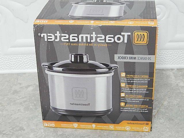 new toastmaster mini crock pot slow cooker