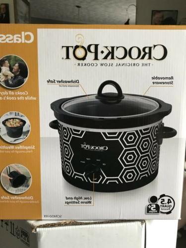 nib crock pot slow cooker 4 5