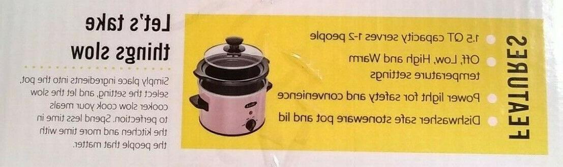 Slow Crock Pot new