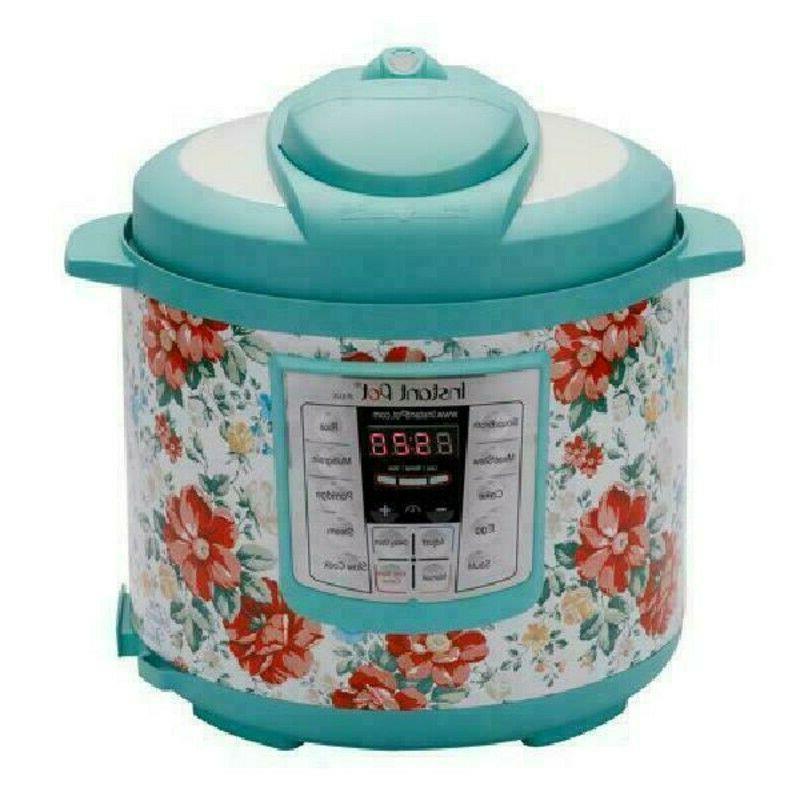 pioneer woman vintage floral crock pot instant