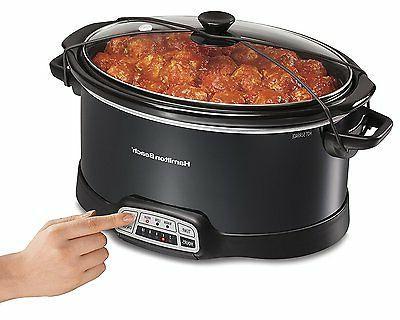 programmable 7 quart slow cooker
