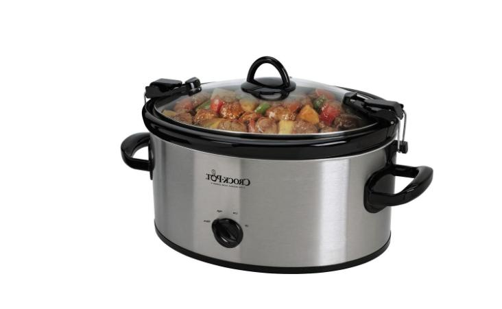 CrockPot 6 Qt. Slow Cooker with Removable