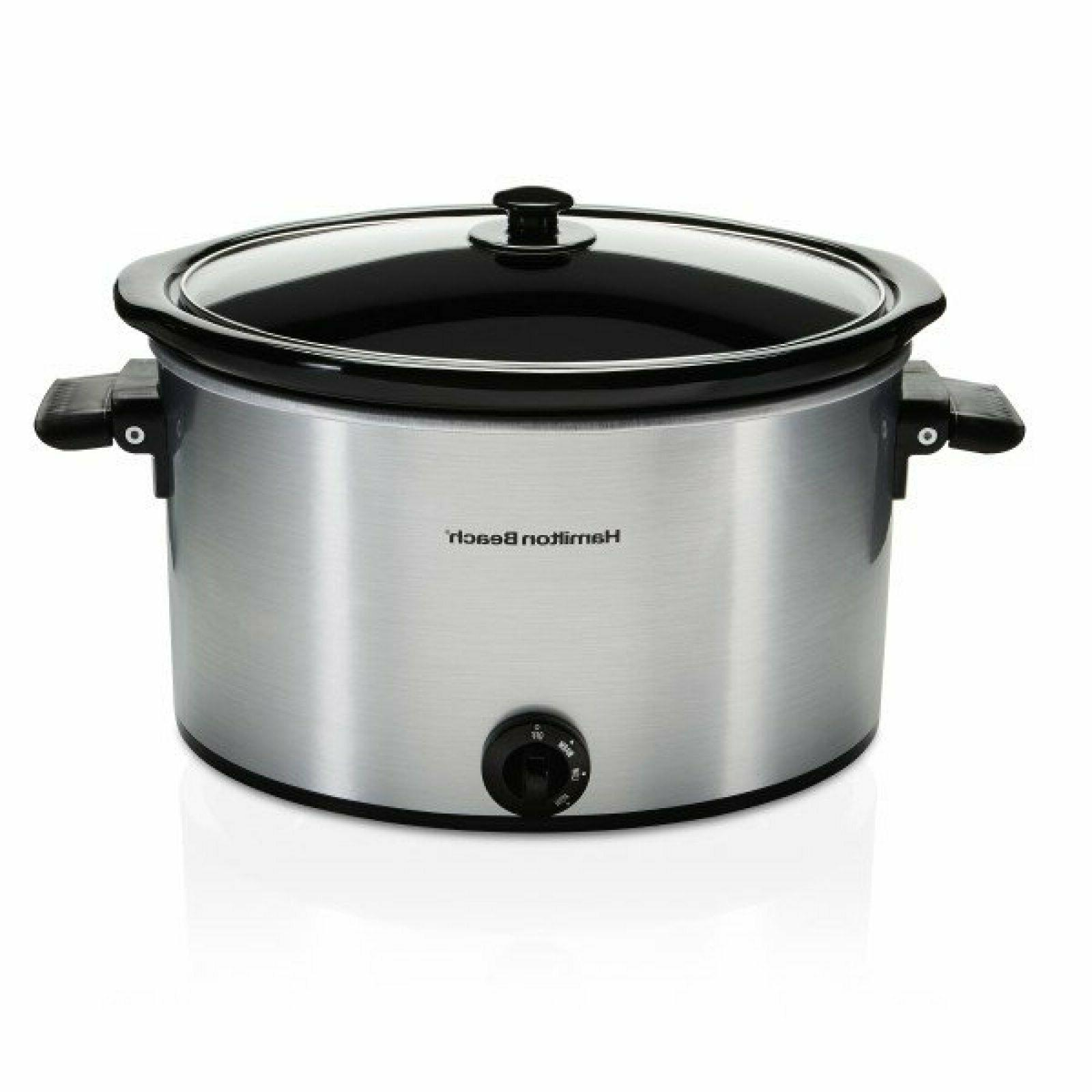 Hamilton Beach Slow 10 Quart Large Pot Kitchen Appliance