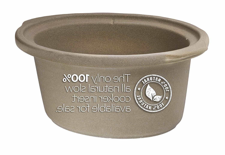 Slow 5 Qt Natural Stovetop Safe