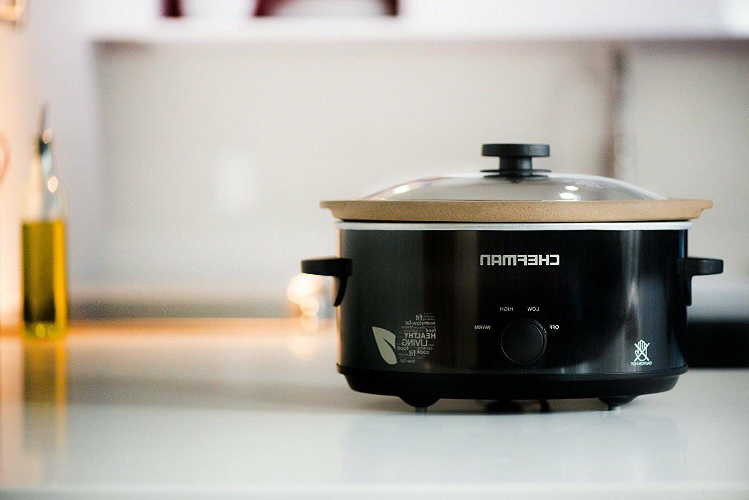 Slow Cooker 5 Chemical-Free Stovetop